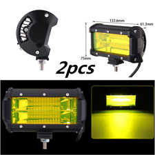 2x 5inch 72W Spot LED Work Light Bar Lamp For Fog Offroad SUV 4WD Car Truck 4X4
