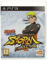 Naruto Shippuden Ultimate Ninja Storm Collection PS3 New PAL EU & AU Format Game