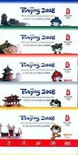 China PRC 5 Markenheftchen Booklets Olympiade Peking Olympic Beijing ** MNH