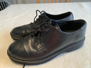 Women's Clark's Black Leather Formal Shoes Size Uk 6
