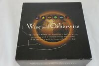 1997 Wise and Otherwise Award Winning Party Board Game MISSING DICE