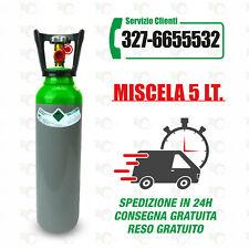 Bombola Miscela 5 Litri, nuova, completa di carica.