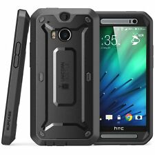 SUPCASE HTC One M8 Unicorn Beetle Pro Full Body Rugged Built-in Screen Protector