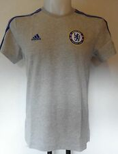 CHELSEA 2015/16 GREY TEE SHIRT BY ADIDAS ADULTS SIZE LARGE NEW WITH TAGS
