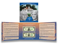 2016 Americas Founding Fathers Set Currency Set $1 $2 ON HAND VERY LOW NUMBERS