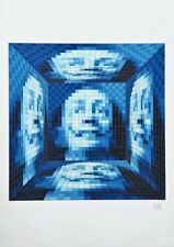 Faces of Dali #5, Limited Edition Silkscreen, Jean-Pierre Vasarely (YVARAL)