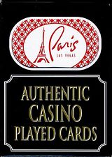 Paris Casino, Las Vegas, NV Playing Cards