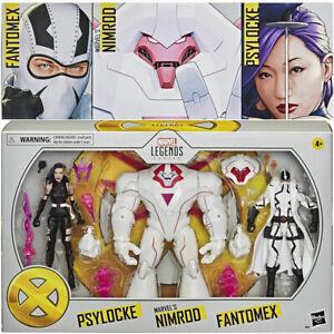 Marvel Legends X-Men Nimrod Psylocke Fantomex Exclusive 3 Pack