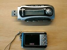2 x RETRO MP3 PLAYERS. PACKARD BELL & DEC. DISPLAYS LIGHT UP FOR SPARES / REPAIR