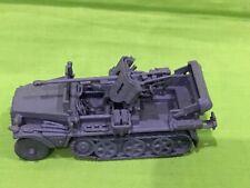 1/72 Segunda Guerra Mundial alemán Semioruga con 75mm Pintado Tamiya? Plastic Soldier? Airfix, Esci