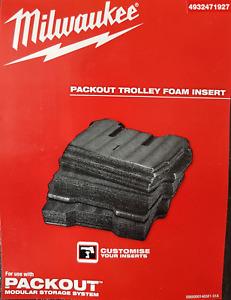 Packout 3 X Universal-Schaumstoffeinlagen To Even to Cut/Einpassen