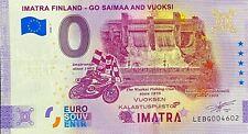 BILLET 0  EURO IMATRA GO SAIMAA AND VUOKSI FINLANDE 2020 N° DIVERS