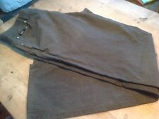 """Hugo Boss Grey Linen Blend  Trousers 34""""- 36"""" Light Weight"""