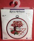 Royal Paris Confiture Cross Stitch STRAWBERRY & JAM Canning Country Mason Jar