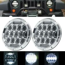 "PAIR 7"" INCH 200W LED Headlight Hi/Lo Beam Fit For Jeep Wrangler CJ JK LJ 97-17"