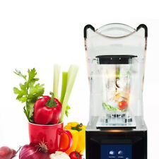 Commercial Fruit Juicer Heavy Duty Smoothie Blender Soundproof Ice Crusher Mixer