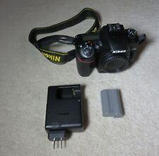 Nikon D7500 20.9MP Digital SLR Camera Body + 64GB card, 2 batteries