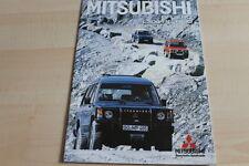 109413) Mitsubishi Pajero - L300 - Space Wagon 4WD Prospekt 01/1986
