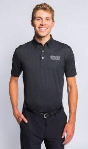 Rick Hendrick Automotive Motorsports Nascar OOBE Polo Golf Shirt Grey 2XL New
