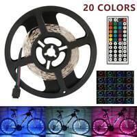 Lumières bande 5M RVB 5050 LED avec couleur à distance du rétroéclairage 12V DE