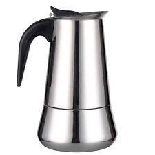 Moka Induction Italian Stove-Top Espresso Coffee Maker 6 Cup Coffee Pot