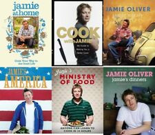 6 x Jamie Oliver HB Cook Books Italy America Ministry Of Food Dinners At Home