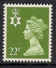 Northern Ireland 1984 NI54 22p litho phosphorised paper Regional Machin MNH