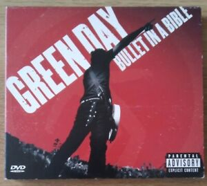 Green Day - Bullet in a Bible (Parental Advisory/Live Recording, 2005) CD & DVD.