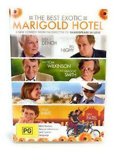 The Best Exotic Marigold Hotel (DVD, 2011) Bill Nighy Region 4 Free Postage