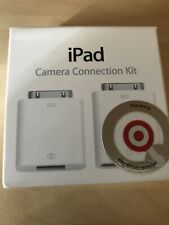 Genuine Apple iPad Camera Connection Kit: MC531ZM/A Brand New / Factory Sealed