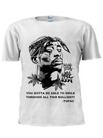 2PAC Tupac Shakur Hip Hop Rap T-Shirt Vest Tank Top Men Women Unisex Tshirt M184