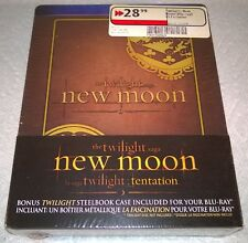 Twilight New Moon (2010, Canada) Futureshop Exclusive Double Steelbooks NEW