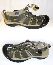 KEEN 1008399 Men's Newport H2 Waterproof Sandal Secure Fit Grey US Size 9 *READ