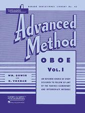 Rubank Advanced Method – Oboe Volume 1, Advanced Level, 72 Pages, 4470410
