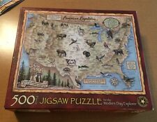 American Expedition Expore and Discover 500 Piece Puzzle