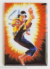 Quick Kick Fridge Magnet (2 x 3 inches) gi joe real american hero karate