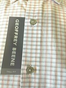 NWT Michael Kors Solid Dress Shirt Big & tall wedding work Non-Iron Wrinkle free