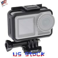 ABS PULUZ Frame For DJI Osmo Action Camera Border Protective Case Cage Buckle US