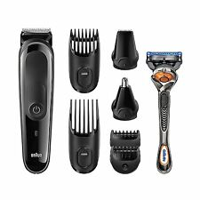 Braun Multi Grooming Kit  8-in-1 Beard / Hair Trimmer for Men, *New Sealed*