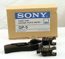 Sony GP-5 Hand Pistol Grip Microphone Holder - New, Free Shipping