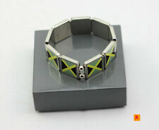Jamaica Flag design Metal fashion bracelet