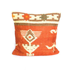 Cushion Cover,Home Decor Bedroom Couch Decor Wool Jute Kilim Dhurrie Cushions
