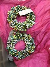 Two Easter Candle Holder Home Decor Candleholder Tabletop Desktop Ring Wreath
