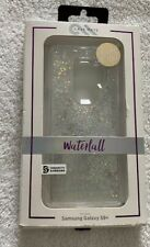 CaseMate Waterfall Series for Samsung Galaxy S9 Plus - Silver Glitter *FAST SHIP