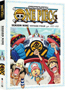 One Piece Season 9 Part 4 - Official R1 anime DVD NEW