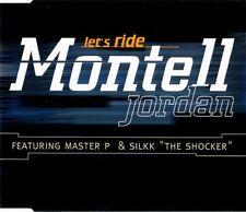 Montell Jordon-Let's Ride PROMOTIONAL CD SINGLE