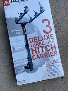 Allen Sports 3-Bike Hitch Racks 1 1/4 in 2 in. Sturdy steel construction Safe