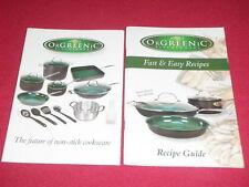 OrGREENiC Kitchenware Fast & Easy Recipes Recipe Guide 2009 Paperback