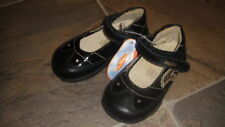 NWT NEW PRIMIGI GIRLS 23 7 BLACK SHOES