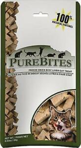 PureBites® Freeze Dried Beef Liver Cat Treat .85oz / 24g